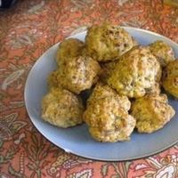 Bisquick(R) Sausage Balls Recipe -got this recipe once from my great aunt who has been making them for 50 years - have made with regular sausage but will make one batch with sage sausage and a batch with hot sausage to change it up a bit.