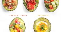 Have you ever felt the urge to stuff an avocado with rich, flavorful tomatoes, a