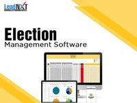Election Management Software  LeadNXT provides Cloudbase Election Management Software for your Assembly Election. It is a secure web-based software system with the latest technology. We are expertise in election management software. The election softwar...