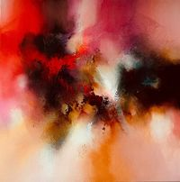 Lust For Dark - original abstract expressionism by artist Simon Kenny $11200.00
