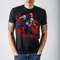 Cowboy Bebop Spike Black T-Shirt $26.47
