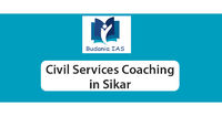 Budania IAS Coaching is the leading civil services coaching in Sikar with modern classroom facilities. We have a result-oriented faculty members who gives his best guidance, personal attention to the students for his success in the UPSC Civil Service exam...