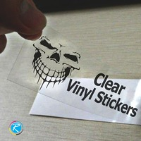 Clear Vinyl Stickers Printing
