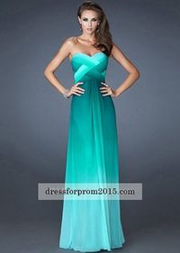 Sweetheart Long Unique Jade Strapless Prom Dress On Sale