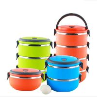Stainless steel multi-layer lunch $16.99