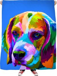 Good Dog Fleece Blanket $65.00