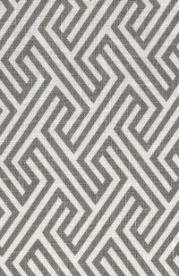 Tonic Living. This is a fabric I would use in my living room, for couch pillows, accent pieces, perhaps even roman shades! Would look so cool all rolled up and then what a geometric and crisp surprise when rolled down. Love the color.
