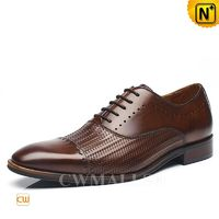 CWMALLS® Vintage Leather Dress Shoes CW707020