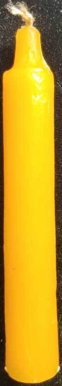 """Look what's new! 1/2"""" Orange chime candle 20pk just in at The Ancient Sage!"""