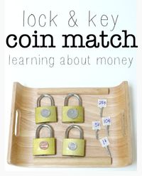 Help your child while they are learning about money with this easy coin identification activity.