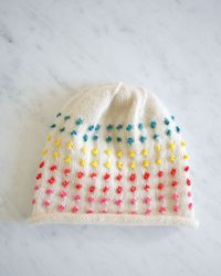 Laura's Loop: Button CandyHat - The Purl Bee - Knitting Crochet Sewing Embroidery Crafts Patterns and Ideas!