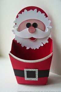 Oh my goodness - how cute it that Santa box!