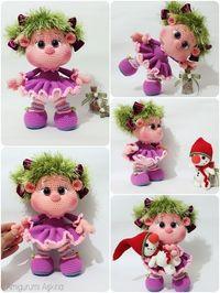Yeni Bir Lola Bebek- Amigurumi Lola doll   Örme bebekler ...   266x200