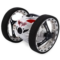 PEG SJ88 2.4G Remote Control Jumping Car 2 Second Rotation Bounce RC Toy $39.12