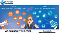 digital marketing versus traditional marketing