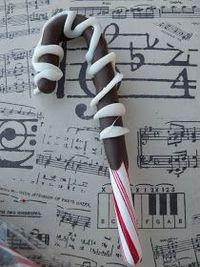 Seasons Of Joy: Chocolate Dipped Candy Canes