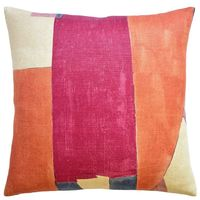 District Claret Throw Pillow $305.00