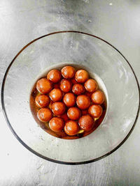 Gulab jamun recipe with video. Gulab jamun is a traditional Indian dessert made by using khoya(a evaporated milk) with flour. Deep fried and soaked in sugar syrup. Serve with nuts and rabdi