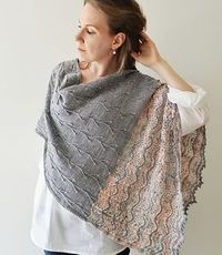 Ravelry: Hanami Shawl pattern by Inese Sang