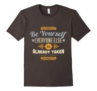 Be Yourself Typography t-shirt - SpiceTree Designs #tshirt #attitude #fun