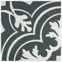 Merola Tile Twenties Classic Ceramic Floor and Wall Tile - 7-3/4 in. x 7-3/4 in. Tile Sample-FRC8TWCL - The Home Depot