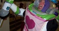 I AM MRS. NESBITT! Have to be a true Disney fan to know this