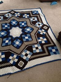 Ravelry: Project Gallery for Blue Star pattern by Kathy Blakely