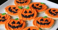 """I've said it before and I'll say it again �€"""" I look for any occasion to decorate with royal icing. I've been looking forward to making Halloween sugar cookies si"""