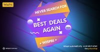 Are you still looking for tool of Price Drops that alert you when the price goes down? Wispri is the best option for choice because it has fast and active AI that always reminder to users about price go up or down. Let's track your prices with Wispr...