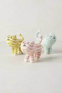 Handknit Kitten Rattles - anthropologie.com #anthrofave