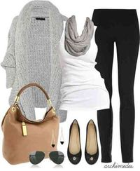 Thispostwas discovered by Keri Hoyt. Discover (and save!) your own Pins on Pinterest. | See more about grey sweater, fall outfits and summer clothes.