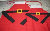 Free Apron Patterns Simple Santa Christmas Apron