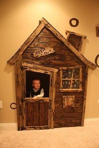 Turn closet into a play house. This is awesome! - Click image to find more Home Decor Pinterest pins