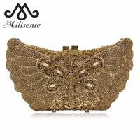 Women Clutch Luxury Crystal Evening Bags / Wedding Purse $164.97