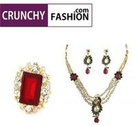 Buy exclusive design jewelry online in India at crunchy fashion. Here you find jewelry, accessories, bridal jewelry set at the best price. crunchy fashion is one of the eminent online jewelry stores in India.