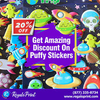 Get Amazing 20% Discount On Puffy Stickers - RegaloPrint.jpg