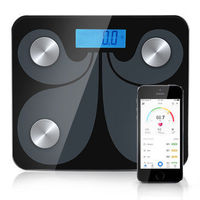 Bluetooth APP Digital Body Fat Scale Bathroom Wireless Weight Scale Body Composition Analyzer with Smartphone App