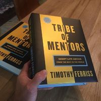 7 things I learned from Tribe of Mentors by Peter Shepherd - Pictured here are two copies One to be used as a doorstop and one to beread Book reviews. As a student at school I couldnt stand them. And yet here we are 15 years later on a Sunday and Im writi...