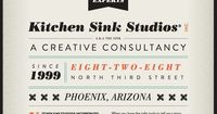 Stunning web typography from Kitchen Sink Studios, http://www.kitchensinkstudios.com/, shows just how far HTML5 has come! Simply gorgeous use of fonts (though it's advisable to use no more than 3