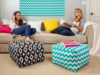 You may think a bland dorm room holds no decorating potential, but just wait. We have savvy design and storage tips to turn your new college digs into home swee