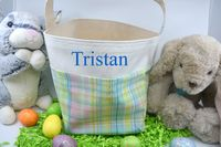 Easter Basket - Plaid $17.00