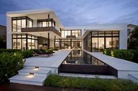 Franco Residence is a home designed by KZ Architecture. It is located in Golden Beach, Florida, and has a warm and easy elegance. View in gallery View in galler