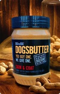 DOGSBUTTER Skin & Coat With benefits of Coconut and Omega 3s Contains no sugar, salt or hydrogenated oils Made with all natural peanuts Includes golden flaxseed and coconut Made in the USA Coconut is chock-full of vitamin E & fatty acids that have...