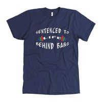 Exclusively from And Above All YOGA --- Life Behind Bars Men's T Shirt for just $33.00 with FREE SHIPPING