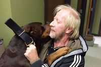 Allen Williams got the happy surprise of his life last weekend, when a Missouri animal shelter