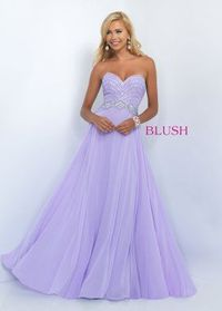 2016 Blush Prom 11070 Glamorous Beaded Sweetheart Prom Gown