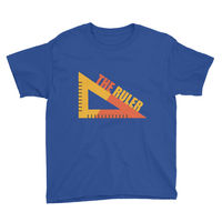 THE RULER Youth Short Sleeve T-Shirt $18.90