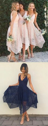 cheap prom party dresses, chic v-neck prom party dresses, sexy v-neck bridesmaid dresses, lace prom party dresses, prom dresses 2017, vestidos
