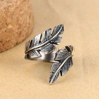 Feather Mens Ring Gift for Boyfriend 27mm https://www.gullei.com/feather-mens-ring-gift-for-boyfriend-27mm.html
