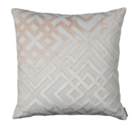 Karl Blush Square Pillow by Lili Alessandra $350.00